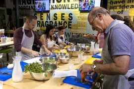 Indian cooking class, Tel Aviv February 2015